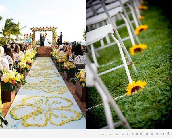 10 Tendencias de decoración de bodas en verano 2018 que no os pueden faltar