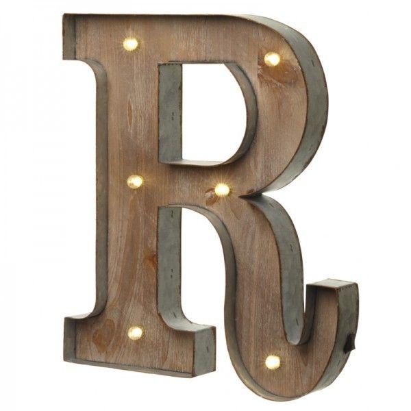 Alquiler letras con luces boda