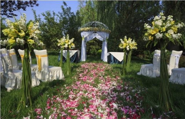 Ideas para decorar el jardín para una boda