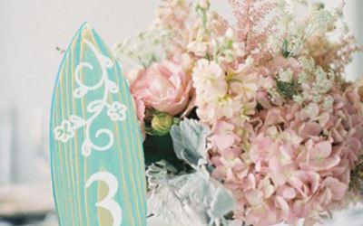 Ideas para decorar un banquete de boda con madera