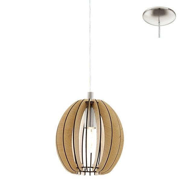 Lámpara diseño natural