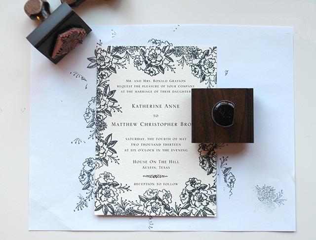 Sellos invitaciones boda 7