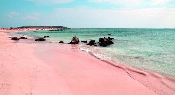 Playa rosa Bahamas