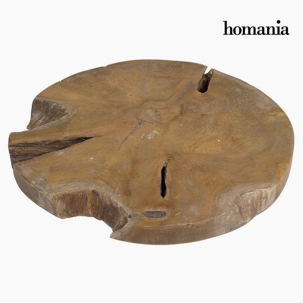 Centro de mesa tronco redondo