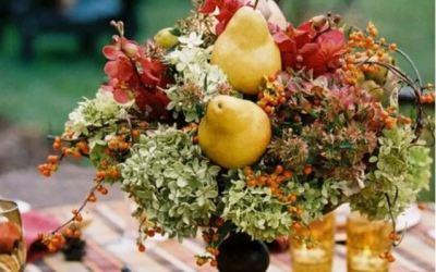 Tendencias en decoración de bodas otoño 2018