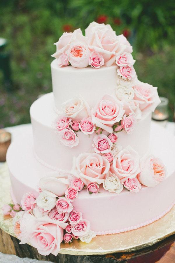 Pastel boda rosa