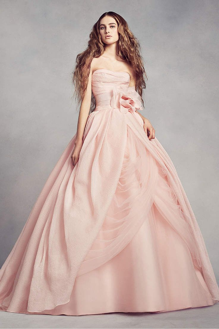 Vestido novia rosa