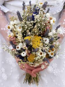 Ramos de novia flores secas