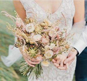 Ramos de novia flores secas 3