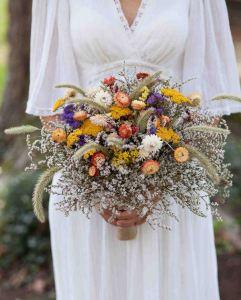Ramos de novia flores secas 2