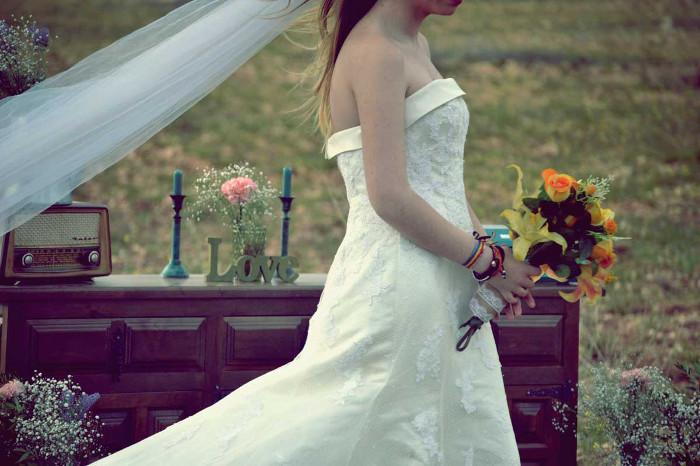 Cómo decorar una boda al aire libre rústica y vintage