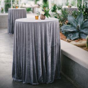Mantel mesa boda terciopelo 2