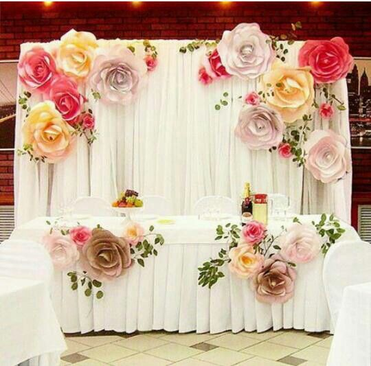 Flores papel decorar boda