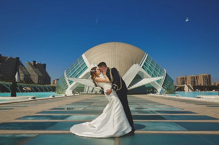 Dónde hacer fotografías de bodas en Valencia