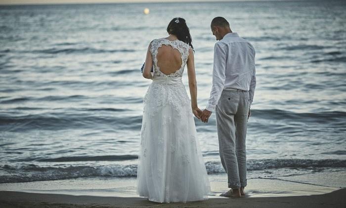 Fotografía boda Valencia playa