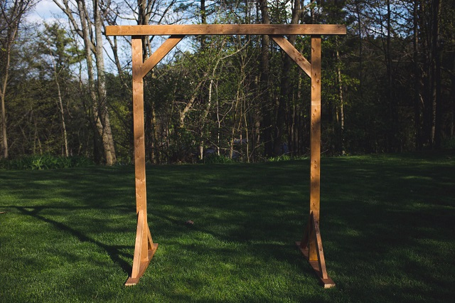 Altar madera paso 8