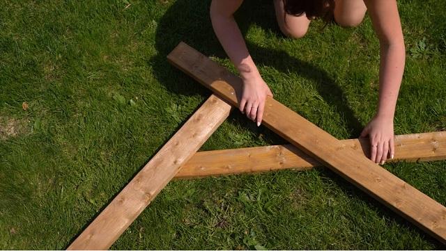 Altar madera paso 2