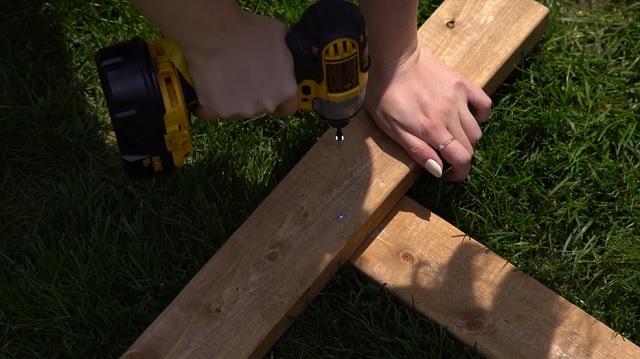 Altar madera paso 1