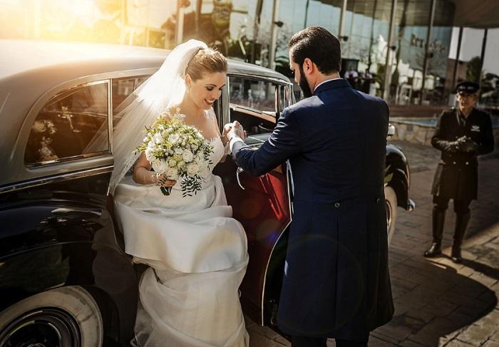 Fotografías de boda con efectos asombrosos