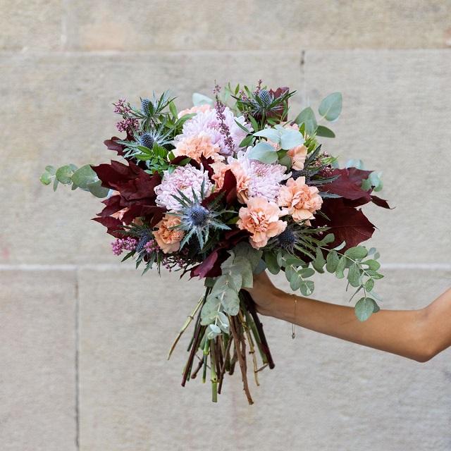 Ramo de flores bodas de otoño 4