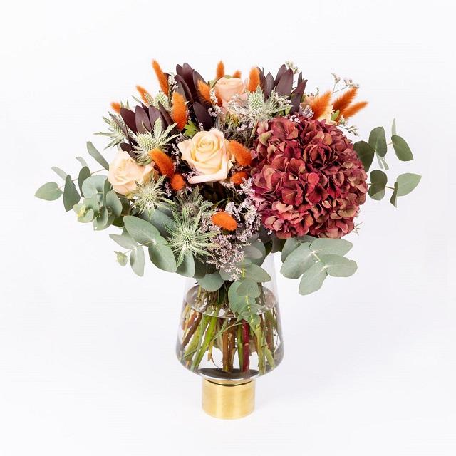 Ramo de flores bodas de otoño 5