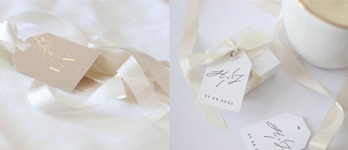 Accesorios decoración boda, lazos