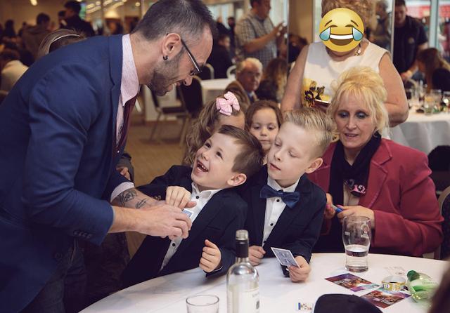 Animación infantil bodas magos