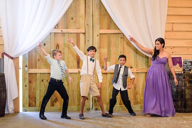 Animación infantil bodas coreografía