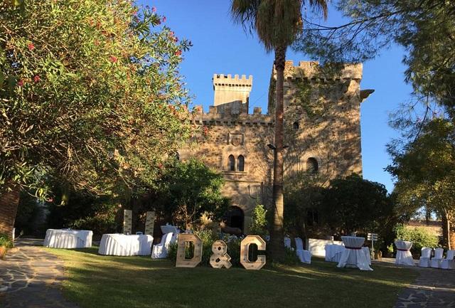 Castillo Seguras Cáceres celebrar boda