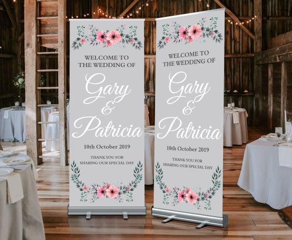 Los mejores roll ups para decorar tu boda