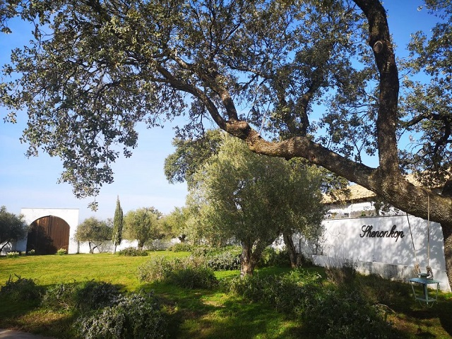 El mejor lugar para bodas en Extremadura: la Finca Shenonkop