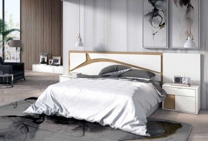 Conjunto dormitorio matrimonio de diseño