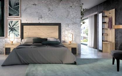 Conjunto dormitorio matrimonio moderno